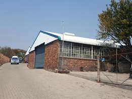 600m2 Warehouse/Workshop To Let