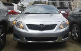 Extra clean foreign used Silver Toyota Corolla LE 2010 model