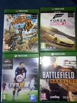 Xbox One games x 4