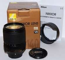 nikon lens 18 to 140 brand new sealed 12 months wa