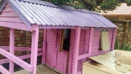 Pink and purple wendy doll house