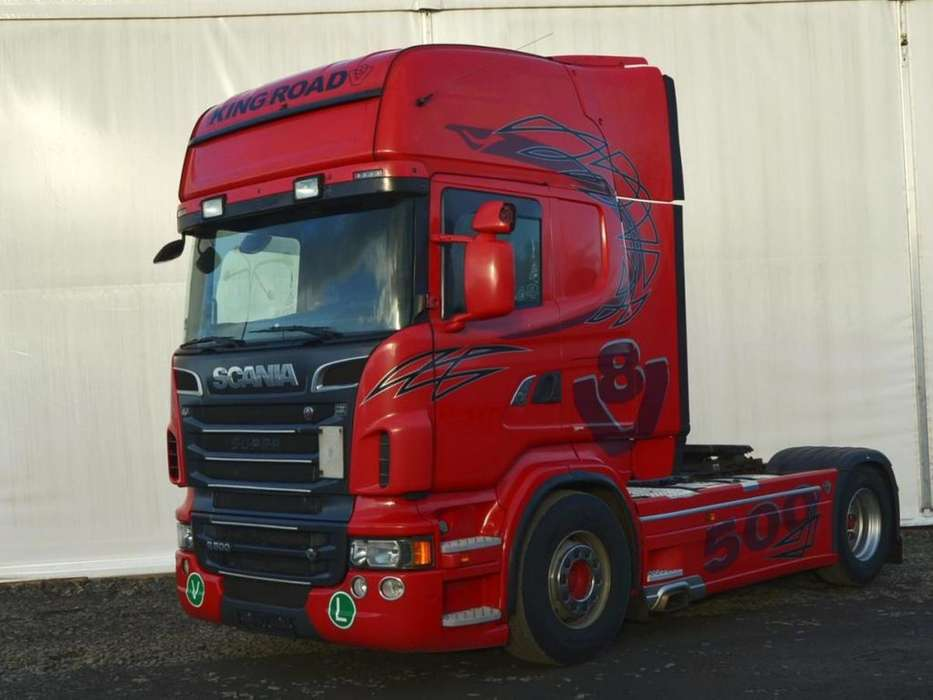 Scania R 500 V8 Hydraulika, Retarder - 2012 - image 4