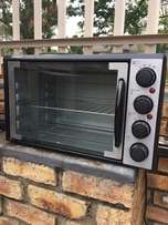 two plate stove with oven