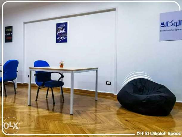 ترابيزات حديد co working space