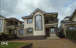 Three bedroom Mansion with a DSQ to let in Ngong Kibiko