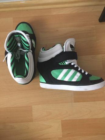 Sportowe buty na koturnie Adidas Białystok Antoniuk • OLX.pl