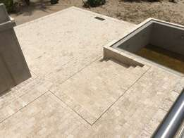 Coral Stone floor and wall tiles
