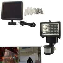 60 LED PIR Solar Motion Sensor Security Floodlight Lamp Outdoor Garden