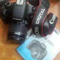 Canon EOS 550D 2 WEEKS UK Used Camera