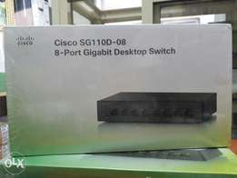 Cisco small business 8-port Gigabit Desktop switch