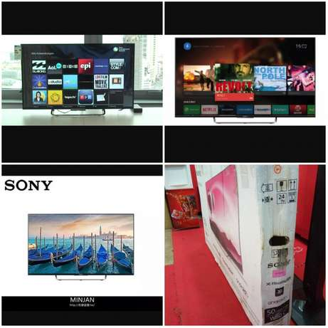 Original Sony 50 inch smart Android, 3D, Blue tooth, 4k HD LED TV Kampala - image 1