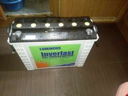 Luminous 220Ah tall tubular battery