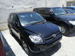 Toyota Rav 4 Black colour with back spare tyre KCM number . 2010 model