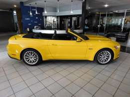 Brand new Ford Mustang 5.0 convertible