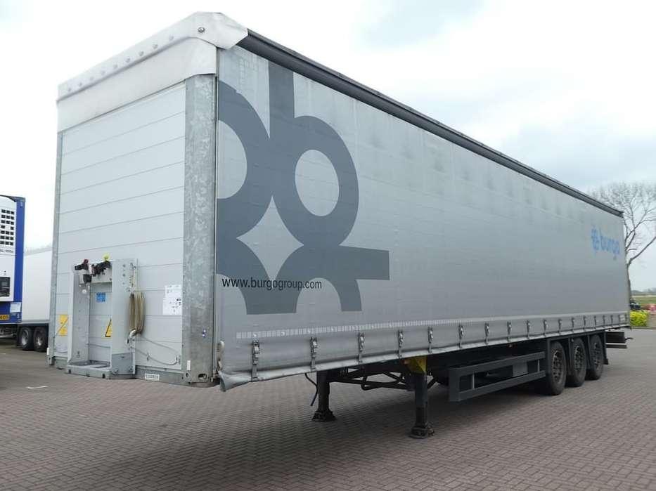 Schmitz Cargobull SCS24/L13.62 PAPER X hubdach,liftaxle - 2016