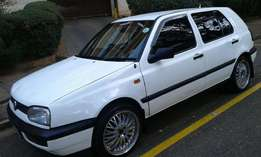 1998 VW Golf 3 1.6 for sale.