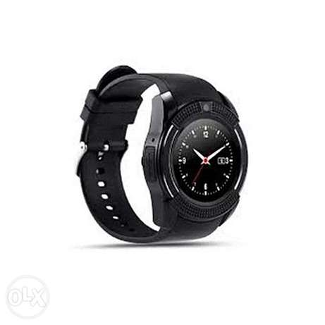 "V8 1.22"" Round Screen MTK6261 IP65 Android Bluetooth Smart Watch With Nairobi CBD - image 1"