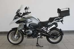 BMW R1200GS Trophy Edition 2016 as new, with BMW Top Box fitted