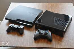 Gaming consoles available