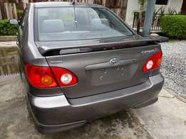 2003 Toyota corolla sport tokunbo at give away price