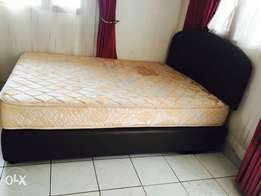 5/6 bed with mattress