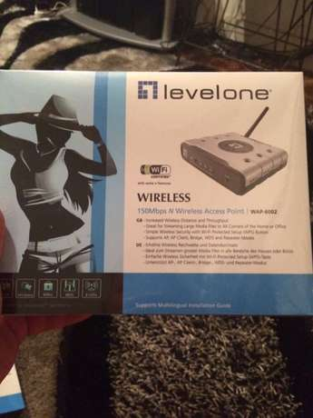 Levelone 150mbps N wireless adsl 2 + modem router Melville - image 1