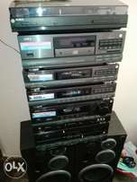 Original Radio six deck aiwa