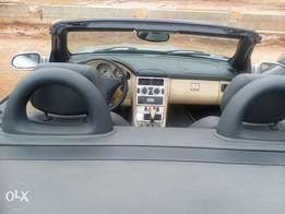 Foreign used Mercedes Benz SLK 230..2 doors 2005 model.