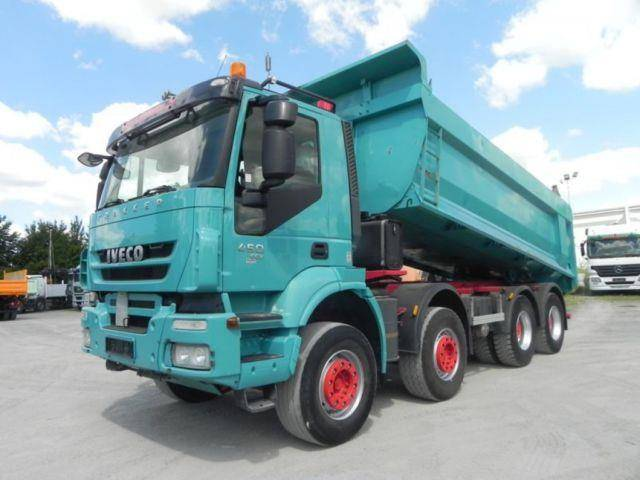 Iveco TRACKER AD340T45 4 Achs Muldenkipper Intarder - 2012
