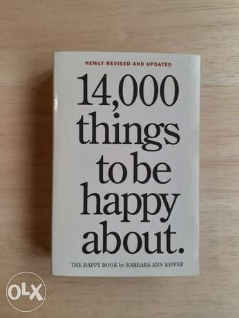 14000 Things To Be Happy About pocket book.