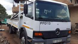 8 Ton Mercedes Artego truck with drop sides
