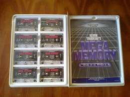Mega Memory tape cassette collection, complete.