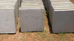 Concrete slabs 450 mm x 450 mm x 50 mm for sale