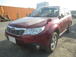 Fully loaded Wine Red Subaru Forester On Sale
