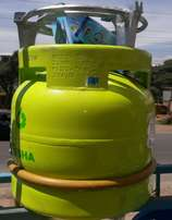 Complete 6kg gas cylinders