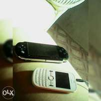 sony PSP and nokia asha
