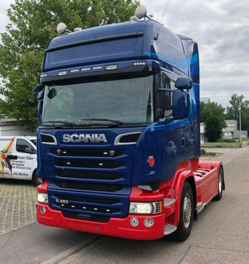 Scania R450LA4X2MNA Toplineu002FSchubbodenhydrauliku002FSCR Onl - 2016