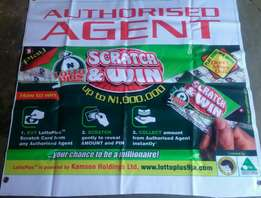 Scratch and win Lotto plus