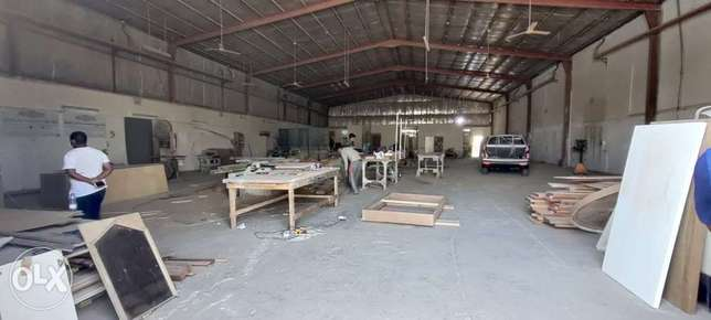 900 Store / Workshop with 2 Room For Rent