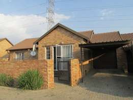 3 Bedrooms 2 Bathrooms in secure estate