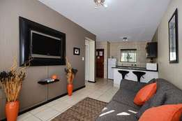 A bachelor apartment available for rental in Braamfontein