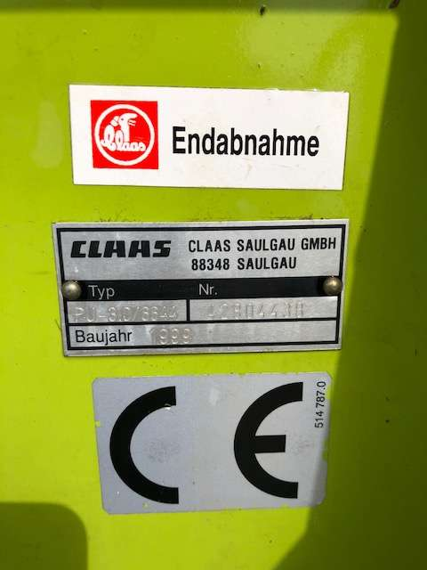 Claas PU 300 - 1999 - image 7