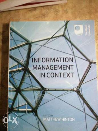 Information management in context for 3000