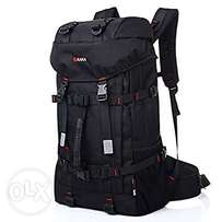 Mens Outdoor Backpack With Lock, Large Travel Hiking Camping Backpacks
