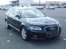 Audi A3 just arrived on sale..