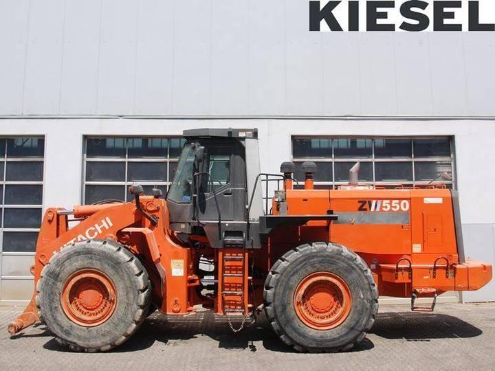Hitachi Zw 550 - 2011