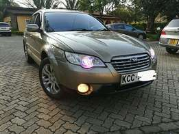 Very well maintained subaru out back 2.5cc petrol engine automatic transmission.