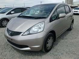 Just arrived HONDA FIT 2010 GOLD COLOUR new TYRES