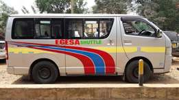 Toyota Hiace Quick sale -fully loaded