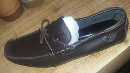 leather loofer shoes